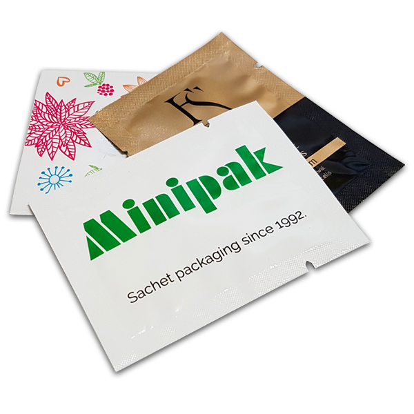 Cosmetic sachet packaging